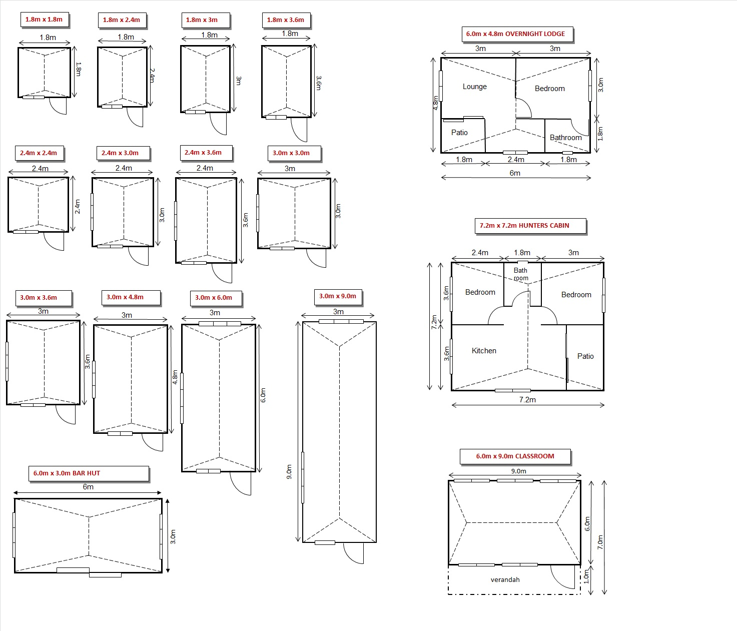 Creative Condo Concepts Wendy Houses Hunters Cabin Lodge